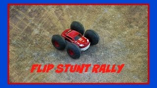 Flip Stunt Rally The Black Series RC Remote Control Car Demonsration