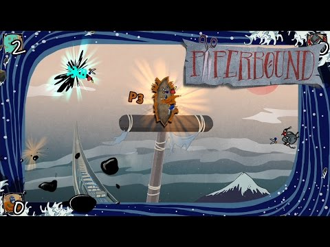 PaperBound: PS4 Gameplay {1080p60}
