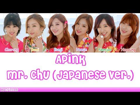 Apink (에이핑크): Mr. Chu (Japanese Ver.) Lyrics