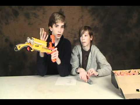 Barrel Break IX-2 - Nerf Socom Reviews