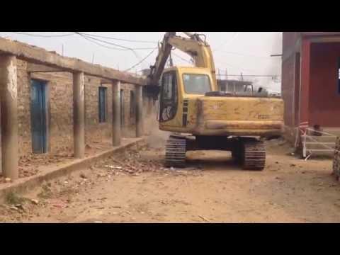 Mechanical Demolition In Nepal