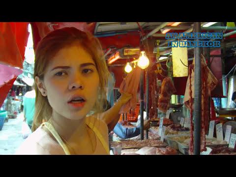 Working Thai Women: Pork Stall Girl