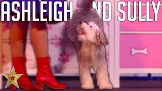 ADORABLE Audition By Ashleigh And Sully ASTOUNDS Judges On BGT: The Champions! | Got Talent Global