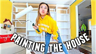 PAINT WITH ME!❄️🏠🎄 Getting ready for the Christmas Party! | Vlogmas Day 4