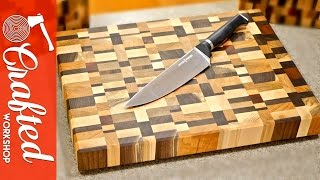End Grain Cutting Boards from Scrap Wood How-To