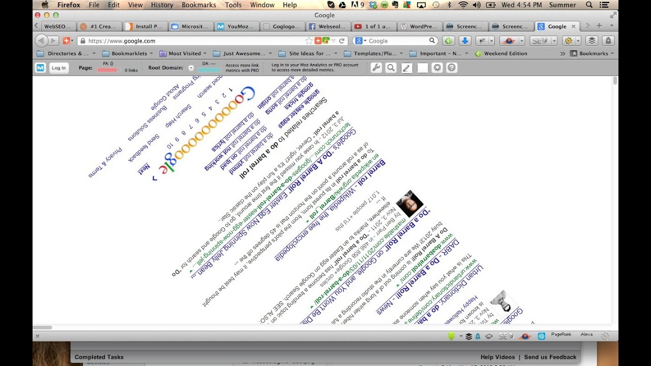 Google Barrel Roll >> How To Do a Barrel Roll Google & Tilt. AWESOME Google Tricks!!! - YouTube