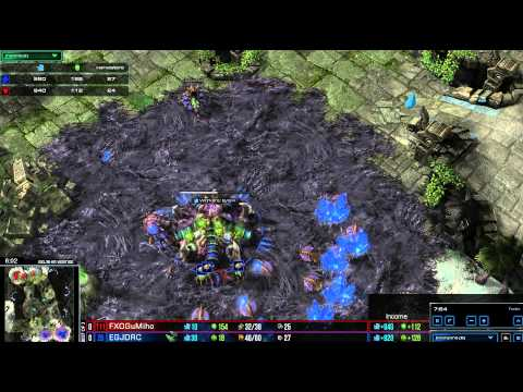 HD Starcraft 2 EG.Jaedong v FXO.Gumiho ZvT Heart of the Swarm g1