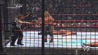 WWE New Years Revolution 2005 - Elimination Chamber Highlights