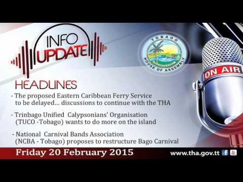 InfoUpdate - Friday 20 February, 2015