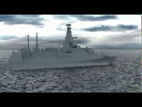 Type 26 Frigate Latest Design (DSEI 2013) BAE Systems, Royal Navy