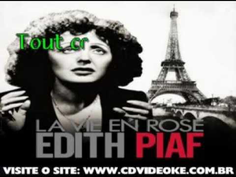 Edith Piaf   A Quio Ca Sert L'amour