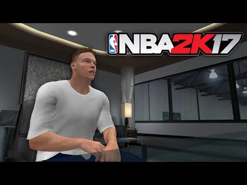 NBA 2K17 My Career - First Game (Player Creation & Draft)