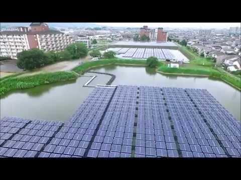 Solar Floating System in Japan