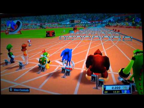 Mario And Sonic At The London 2012 Olympic Games Nintendo Wii