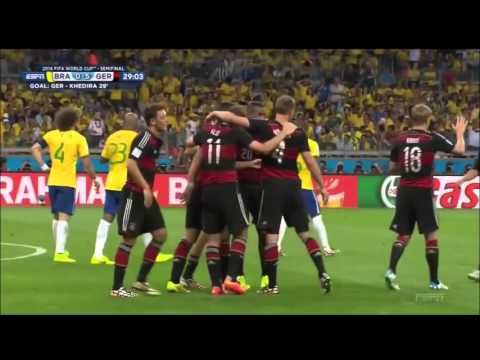 Germany V.S Brazil ● 7 - 1 Semi-Final WC 2014 ● Full Highlights HD