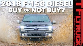2018 Ford F-150 Diesel On and Off-Road Review: So How Does It Drive?