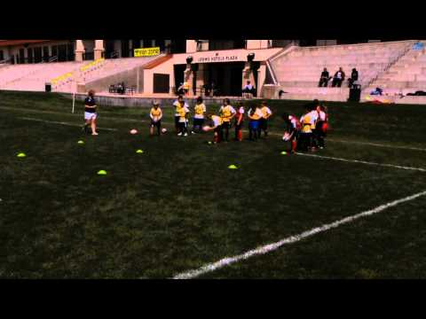 Rookie Rugby - Swerve and Side Step Relay