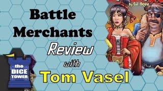 Battle Merchants Review - with Tom Vasel