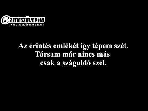 Wolf Kati - Szerelem Miért Múlsz (dalszöveggel - Lyrics Video)