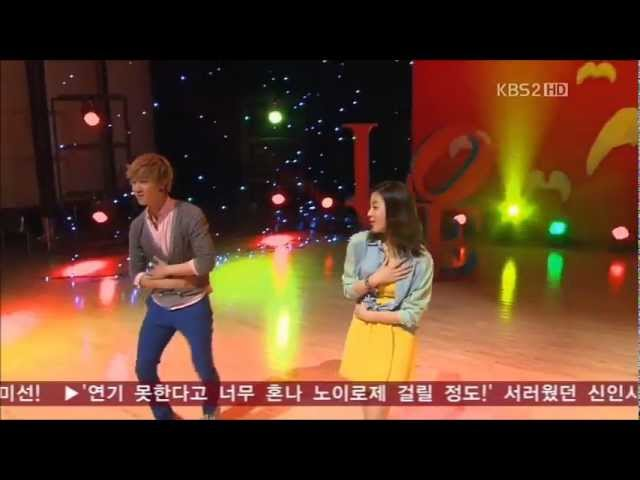 Dream High 2 (드림하이 2) - JB and Kang Sora - Bobbed Hair (Kim Jong Seo) [Episode 12]