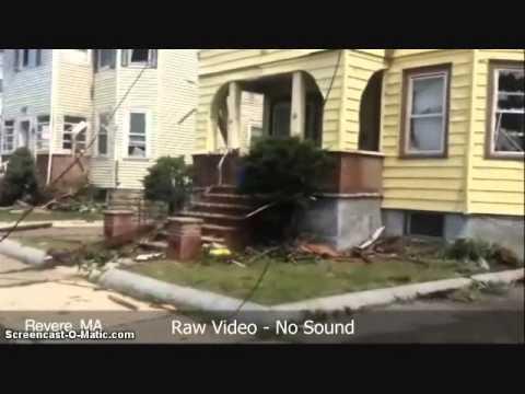 Tornado Damage Revere MA - July 28, 2014