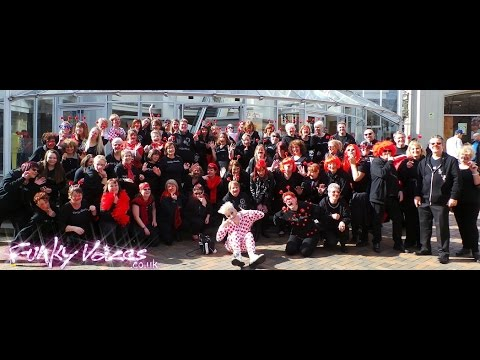 Funky Voices Red Nose Day Comic Relief 2015