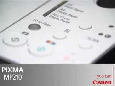Canon Pixma MP210 Multifunctional Inkjet Printer