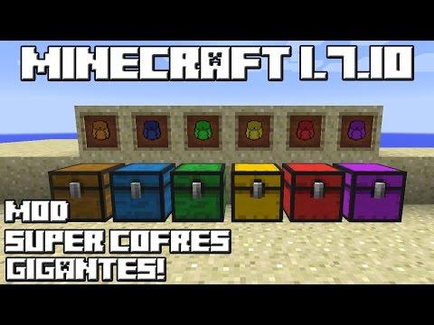 Minecraft 1.7.10 MOD SUPER COFRES GIGANTES