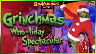 Grinchmas Who-liday Spectacular at Universal Orlando 2018