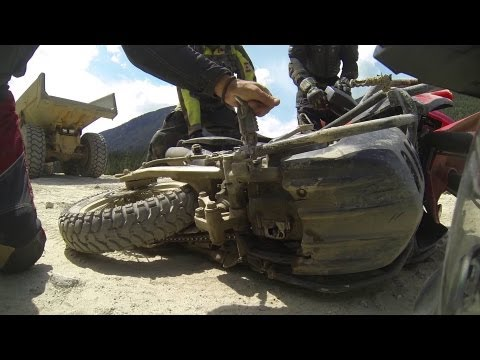 Kookipi Pass to Boston Bar -- BMW HP2. KTM 950. KLR 650. TR650: Part 1