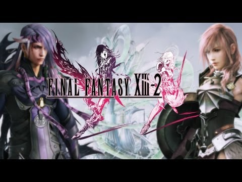 All ★Final Fantasy Xlll-2★ Cutscenes Movie {English}