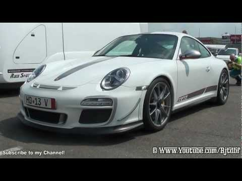 (HD) NEW Porsche GT3 RS 4.0 in Action!!!! LOUD Start-Up, Accelerations, Flybys etc.!!!