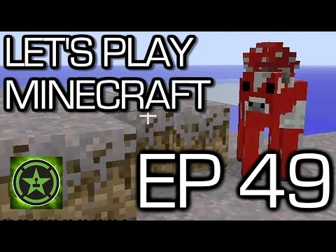 Let's Play Minecraft: Ep. 49 - THE END Part 1