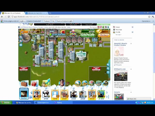 millionaire city hack money  y xp 2011