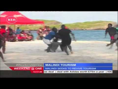 Thousands of tourists thronge Malindi beaches to participate in 2nd edition of Watamu beach rugby