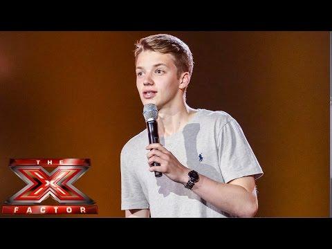 Joe Slater Sings The Eagles' Desperado | Boot Camp | The X Factor Uk 2014 video