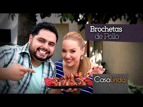 Brochetas de Pollo a la Plancha - Guzii Style - Casa Linda Ep 4