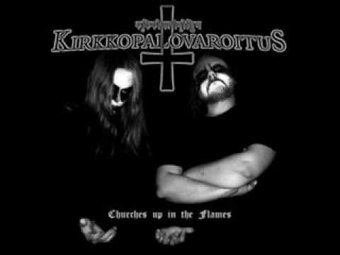 Kirkkopalovaroitus - Scorn In Eternity
