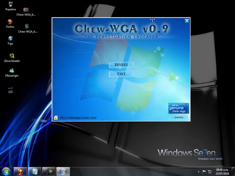 Windows 7 Esta copia de Windows no es original !!!solucion!!!