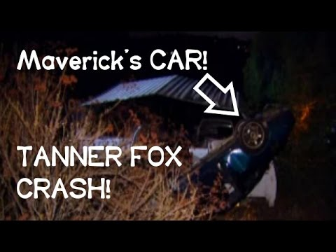 TANNER FOX AND FRIENDS CAR CRASH! SAN DIEGO! (ORIGINAL VIDEO)