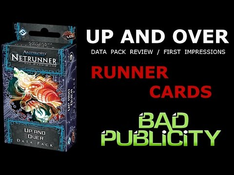 Bad Publicity: Season 03 Episode 04 - Up and Over; Runner Cards