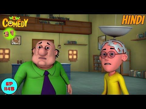 Motu Patlu   Satellite Patlu   Cartoon in Hindi for Kids   Funny Cartoon Video thumbnail