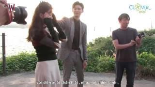 """[Vietsub] Hậu trường Ep.16 """"W_Two Worlds"""" ( Tạm biệt Kangchul YeonJoo)"""
