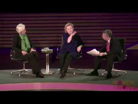 A Conversation with Hillary Rodham Clinton and Christine Lagarde: What's In Store for Both