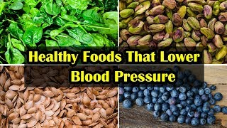 Top 8 Foods That Lower Blood Pressure || Natural Ways to Lower Blood Pressure at Home