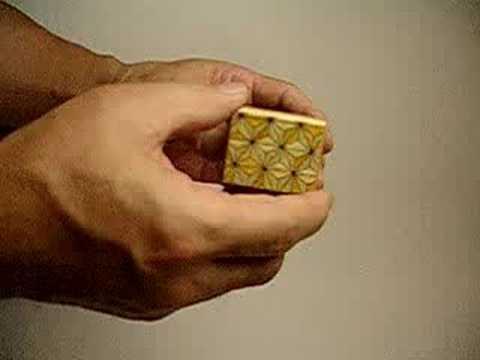 箱根寄木細工 秘密箱 いづみや