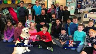 5 For Good: Police encourage students to read