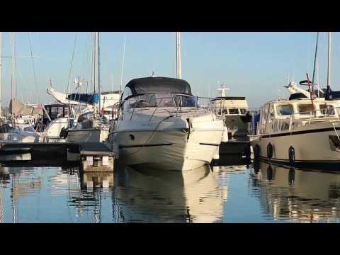 Cranchi Zaffiro 34 White Pearl Video
