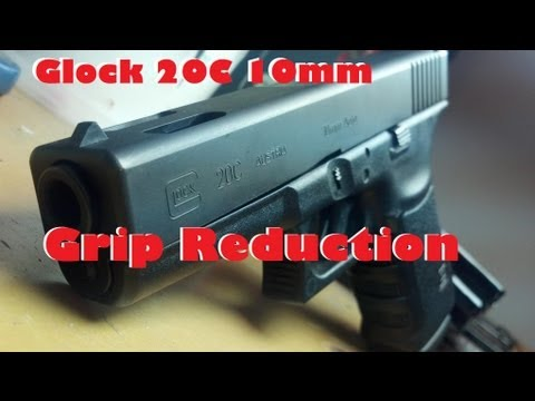 Hog Hunting Glock Gets a Grip Reduction! Glock 20C 10mm