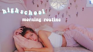 my REAL school morning routine...